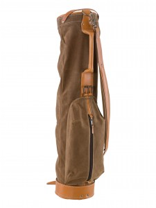 VINTAGE SOFT GOLF BAG - TOBACCO